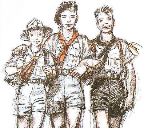 canti scout