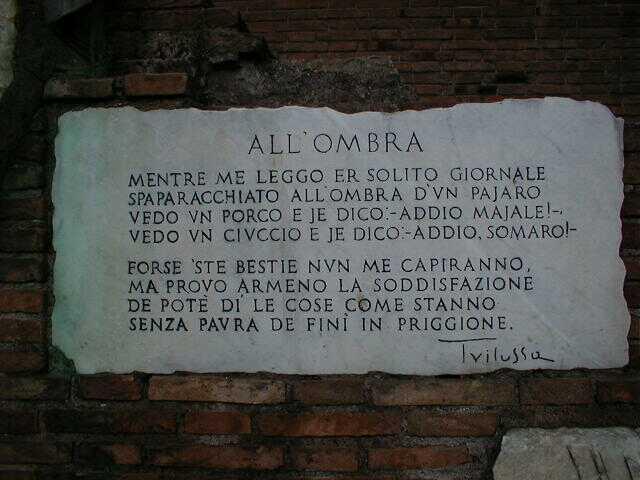 Poesie Di Natale Trilussa.Trilussa Poesie In Dialetto Romanesco 180 Testi Blog