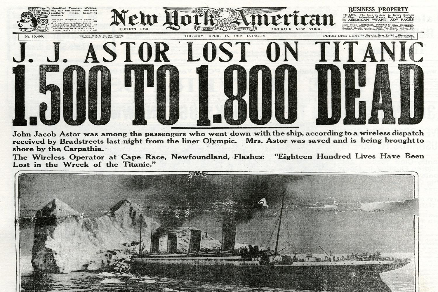 titanic-new-york-american-coverage