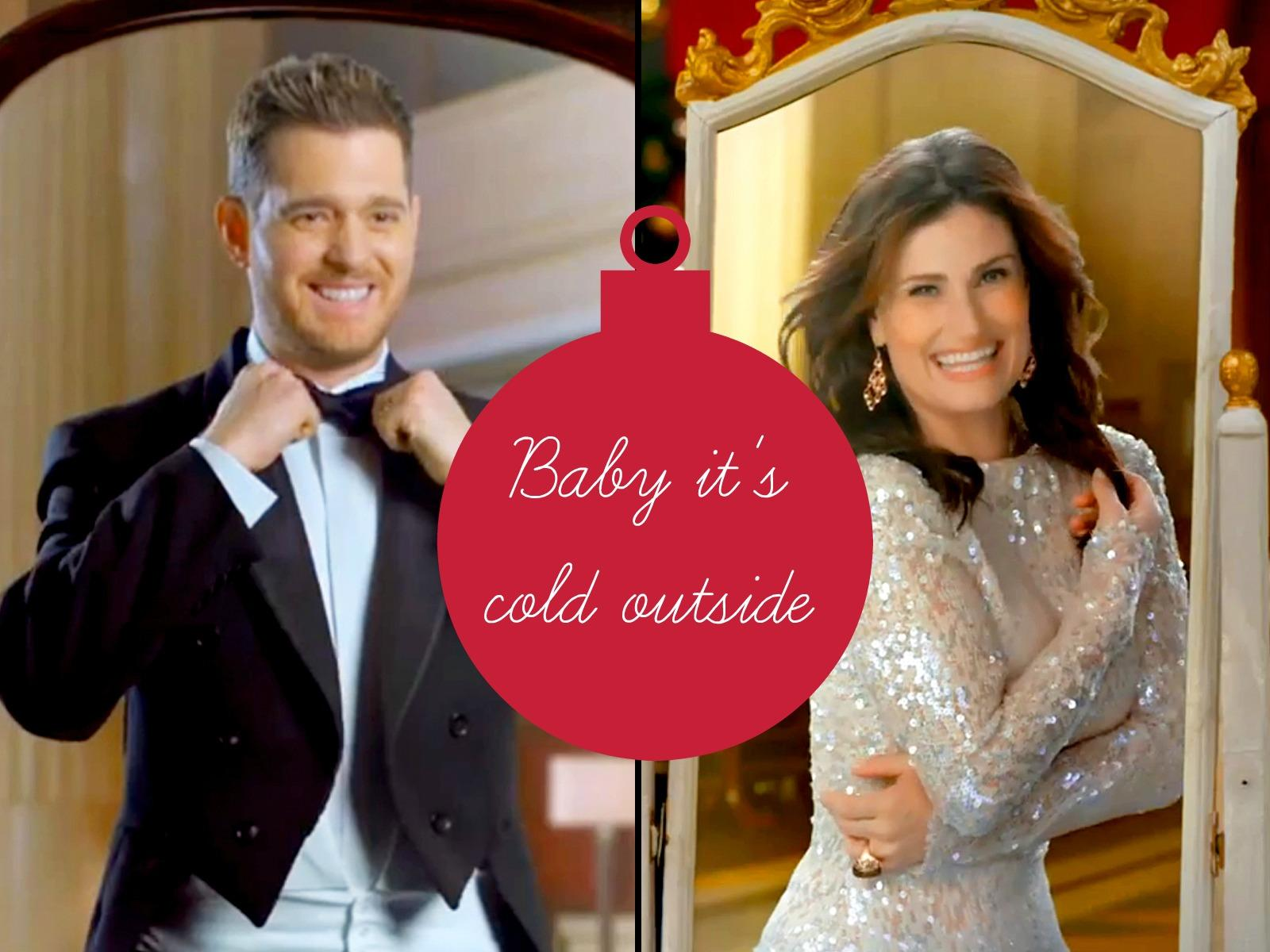 Baby It's Cold Outside di Idina Menzel & Michael Bublé